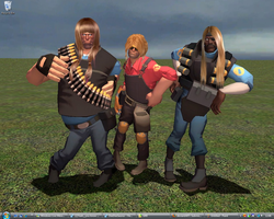 TEAM FORTRESS 2 DANJO by LouisDelacroix