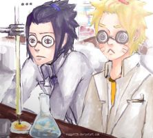 Chemistry Partners. by Ragginess