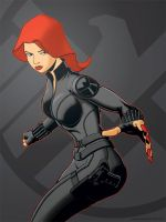 Black Widow, Agent of SHIELD redux by jtchan
