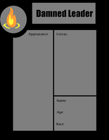 Blank Damned Leader App by rayne-storme