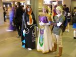 Desucon 2015: Legend of Zelda cosplay group by cynderfan35