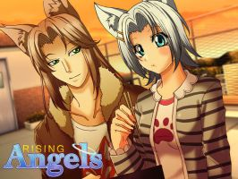 color. rising angels cg sample by maioceaneyes