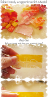 Tutorial: Candy Wrapper Things by bunnykissd