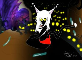 Tails and heartless in land of darkness by lostdreams1