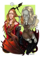Game of Thrones vs. American Dad by Nickychan
