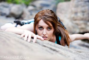 Tiffany Dean Cosplay Lara Croft Tomb Raider by BabyGirlFallenAngel