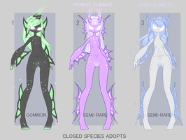 Closed Species adopts: AUCTION OPEN 3/3 by Lunathyst