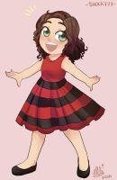 My Red Dress by shock777