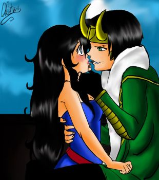 Loki and Celina~ by ameH15
