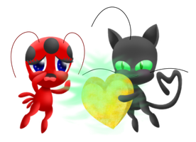 Tikki Plagg transparent lineless by MikariStar
