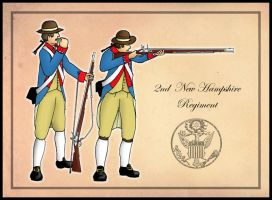 2nd New Hampshire Regiment by SimonLMoore
