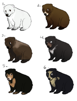 Bear adopts - closed - by PointAdoptsforyou