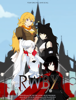 RWBY movie poster contest entry by HikariYui