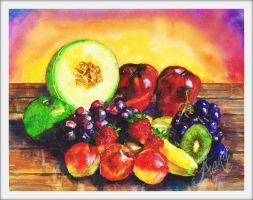 Colorful Fruits by FranyBerry