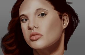 Portrait WiP by Chachava
