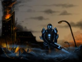 Apocalyptic Soldier by GhilliedNinja