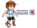 APH OC - Collab: Copa America Chile 2015 by ByOkinuChan