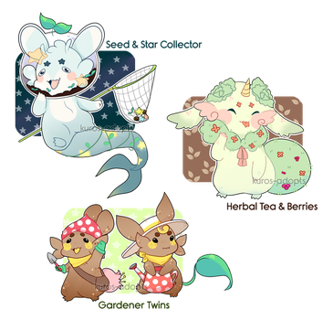 Spring Axolgooeys Auction [OPEN] by kuros-adopts