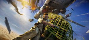 Uncharted 3 - Promo Artwork by snakeff7