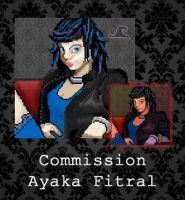 COMMISSION - Ayaka Fitral by PointyHat