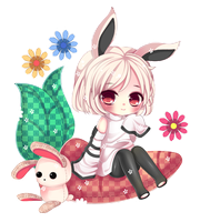 GIFT - BUNNY by MilkyWay-Galaxy