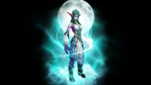 High Priestess Tyrande by Captain205