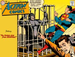 Action Comics 218 by Superman8193