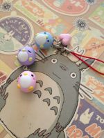 Polymer Clay Penguin Strap by Fluffybunnycharms