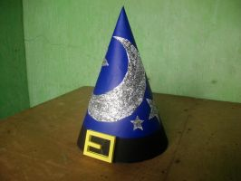 Papercraft Wizard's Cap (Happy Late Halloween!) by MarcGo26