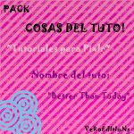 Recursos del Tuto Better Than Today by FandeSelGomez
