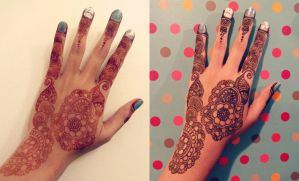 Long time no Henna! by A-w0man
