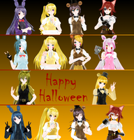 [MMD] Halloween Gifts 2016: 2nd Part by traineeCross