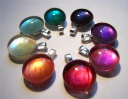 Shimmerstone Pendants III by Bright-Circle