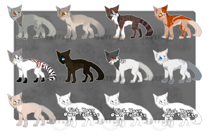 .: Cheap Cat Adoptables :. OPEN! by Jayflop