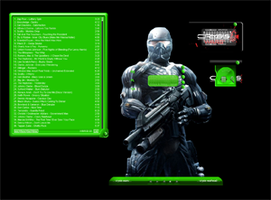 crysis winamp skin by remib74