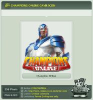 Champions Online Icon by CODEONETEAM