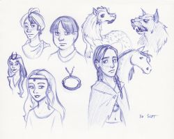 Neverending Characters by kuabci