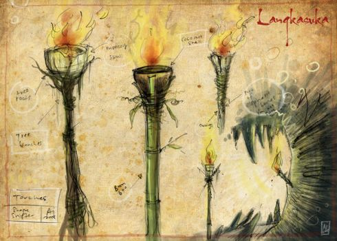 Torches by GroovyFunkyStonkyBoy
