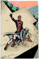 Death Of Gwen Stacy by theDANEtrain