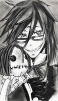Commission: Grell by UnexpectedFantasy