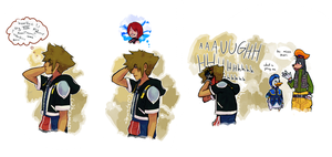 poor Sora by hyamara