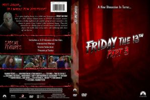 Friday the 13th Pt. 3 Custom DVD Cover by SUPERMAN3D