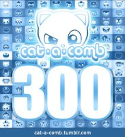 Cat-a-comb - 300 by maiconmcn