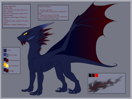 Pure Light - Nightshade Reference Sheet by CriexTheDragon