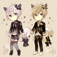 [AUCTION] LineHeart #25-26 : closed (+pts) by ErinAdopts