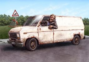 Candy In The Van by Bjerg