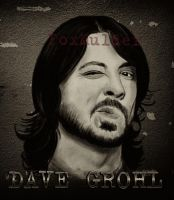 Dave Grohl by foxmulder666