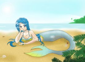 Milia - Mermaid by vaderaz