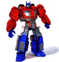 Transformers war for cybertron Optimus Prime (G1 c by DCSPARTAN117