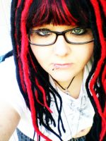 Me with dreads by CrayolaScribbles